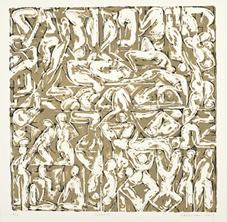 %22Circus%22 lithograph 53x53cm